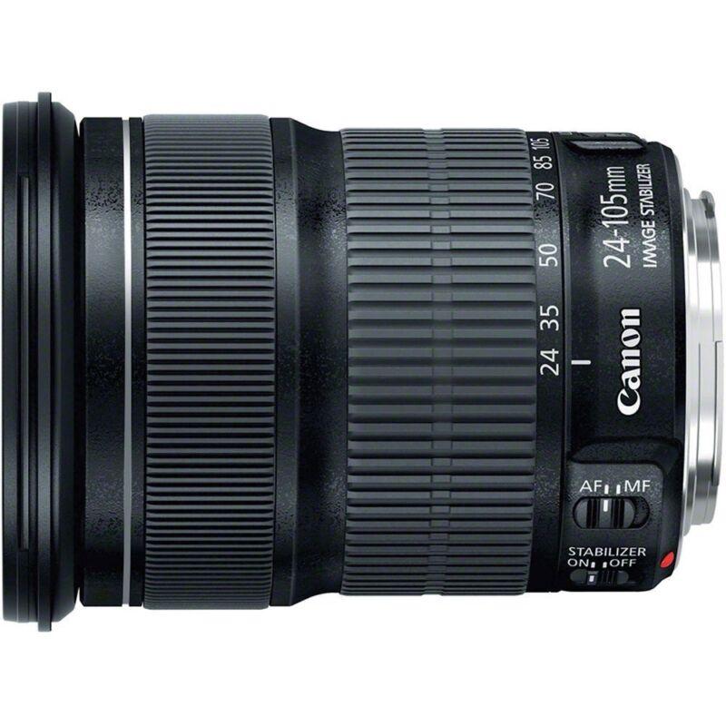 Canon EF 24-105mm f/3.5-5.6 IS STM Standard Zoom Lens for EOS SLR Cameras Black 9521B002
