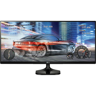 LG 25 Inch 21:9 UltraWide Full HD IPS LED Monitor with Game Mode | 25UM58-P