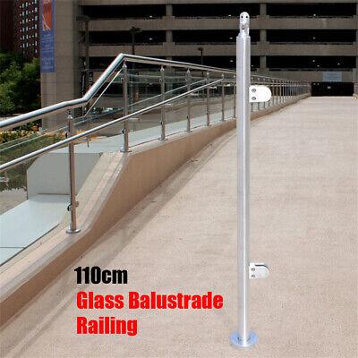 Handrail Stair Railing Stainless Steel 110cm Balustrade Staircase Rail End post