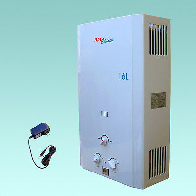 New Natural Gas  Tankless Water Heater  4 3Gpm   Hot Choice