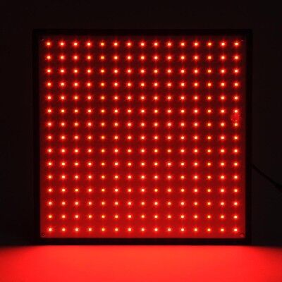 225 Ultrathin LED Grow Panel Light SMD Plant Lamp All Red Hydro Garden (Led Grow Lamps)