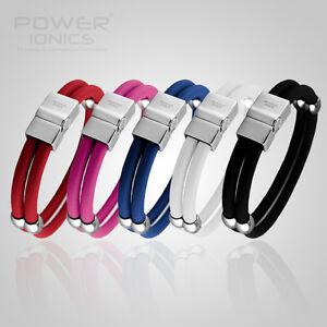 New-Plus-Health-Titanium-Power-Ionics-3000ion-Magnetic-Double-Wristband-Bracelet