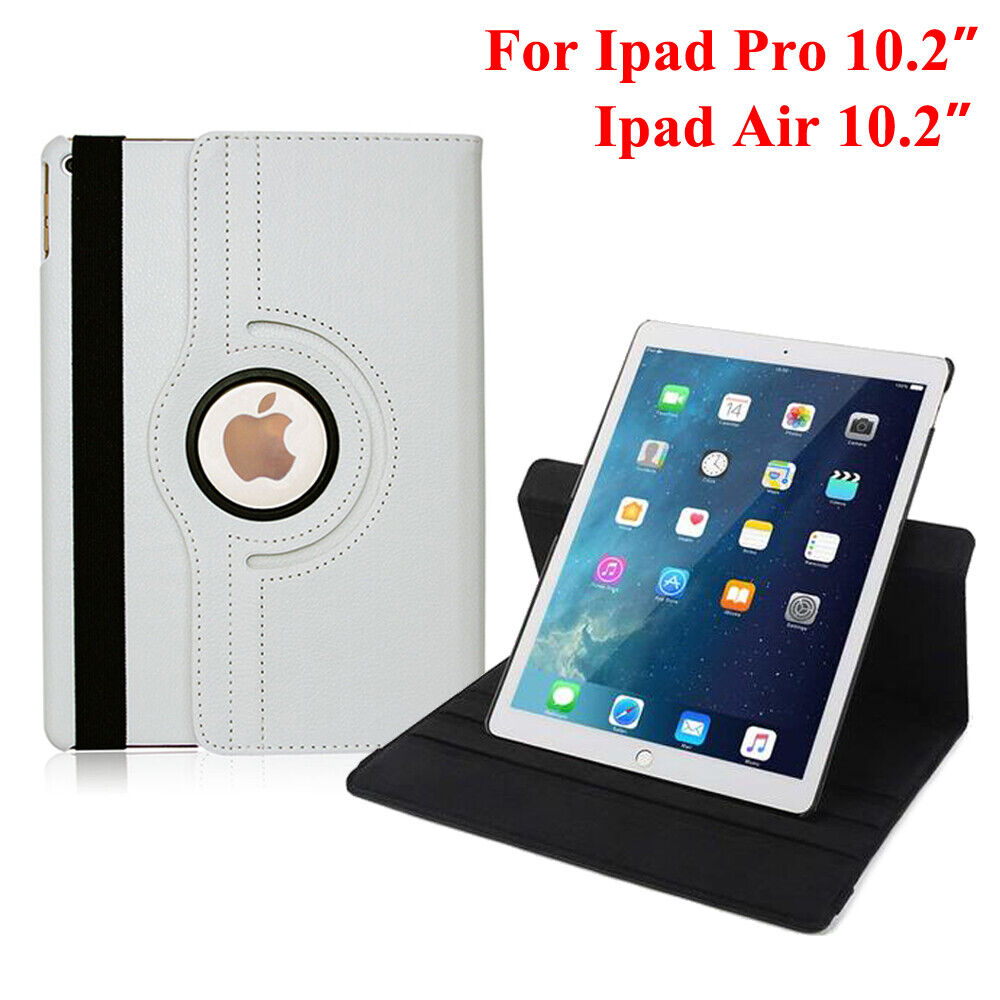 360 Rotating Leather Smart Case Cover Stand For 2019 iPad Air iPad Pro 10.2″ Cases, Covers, Keyboard Folios