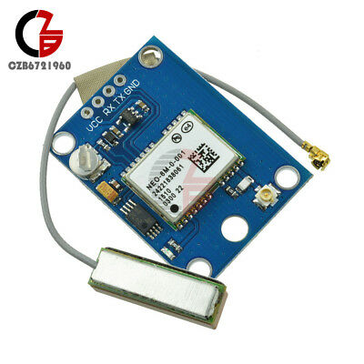 Neo6mv2 Neo-6m Gps Module Rs232 Ttl Mini Antenna For Arduino Flight Controller
