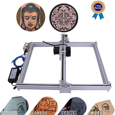 Cnc Laser Engraver 2500mw 40x50cm Wood Logo Marking Engraving Machine Diy Kit