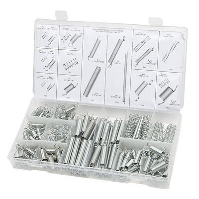 200PCS/1 set 20 Sizes Practical Metal Tension Compression Springs Assortment Kit
