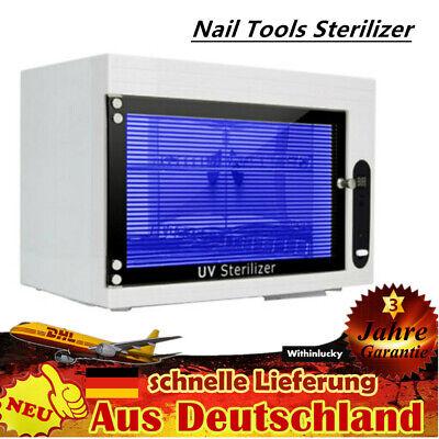 UV Sterilisator Box Multifunktionale Desinfektionbox Nagel Sterilisationsschrank