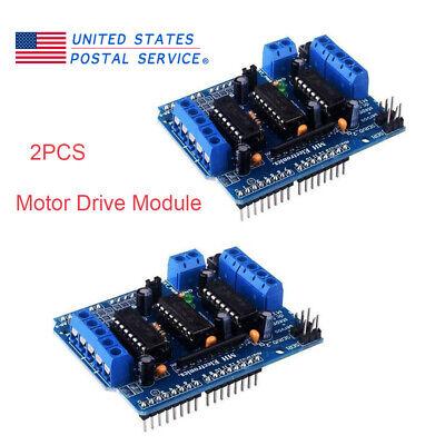 2pcs Motor Drive Module L293d Drive Shield Motor Board Control Arduino Robot