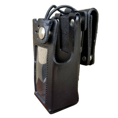 Case Guys Mr8590-3bwd Hard Leather Holster For Motorola Apx 4000 Radios