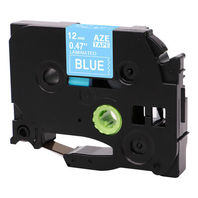 Tze Tz535 Brother Standard P-touch Compatible White On Blue12mm Label Maker Tape