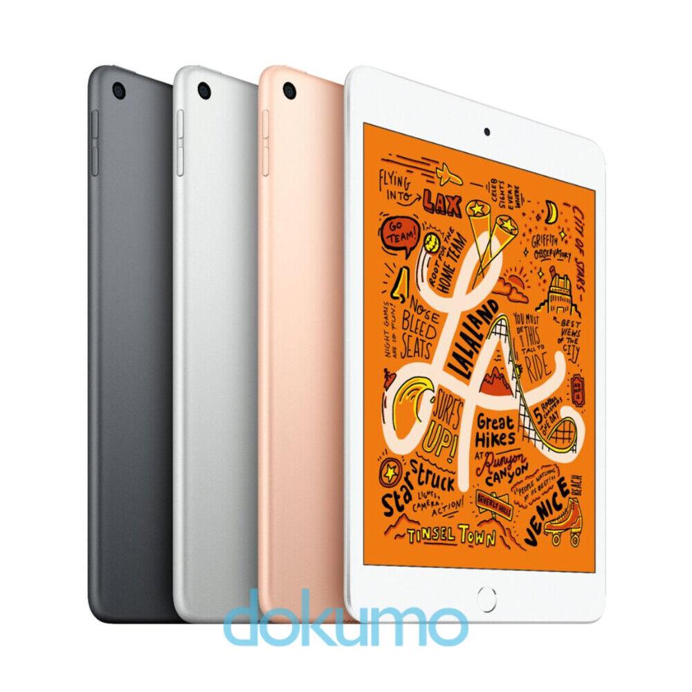 Apple iPad Mini 5 64GB Wi-Fi 2019 Versión (Gris / Plata / Oro) Nuevo