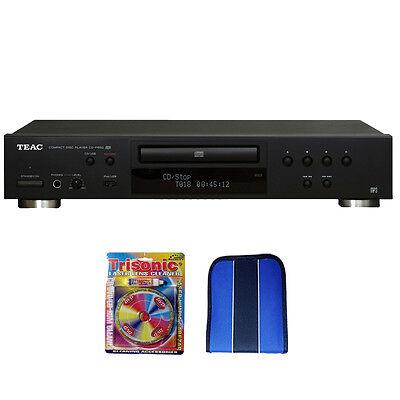 Teac CD Player w/ USB Port (Black) - Essentials Bundle