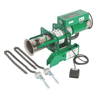 Greenlee 6901 Ut10 Puller Package With Chain Mount