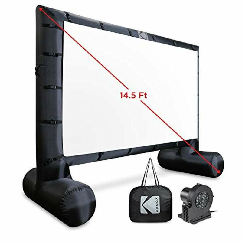 KODAK Inflatable Outdoor Projector Screen | 14.5 Feet, Blow-Up Screen for Movies