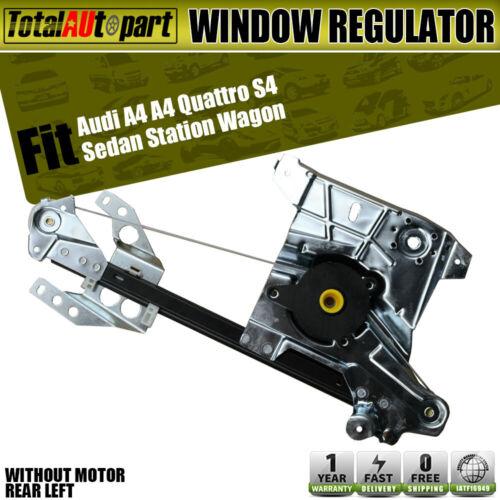 Power Window Regulator For 96-2001 Audi A4 Quattro 2001-2002 S4 Front Left Side