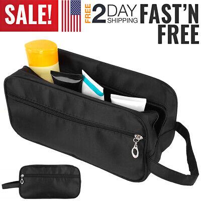 Travel Toiletry Bag Dopp Kit for Men & Women Cosmetics Makeup Shaving Organizer Men Shave Kit