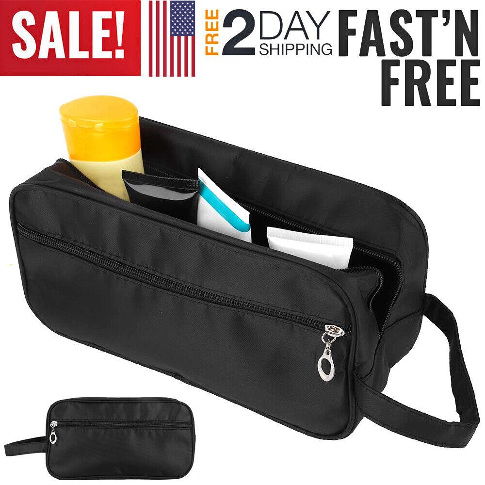Men Toiletry Travel Bag Shave Kit Organizer Dopp Shaving