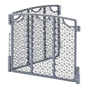 Newenflo Versatile Play Space 2-Panel Extension, Cool Gray Condition: New