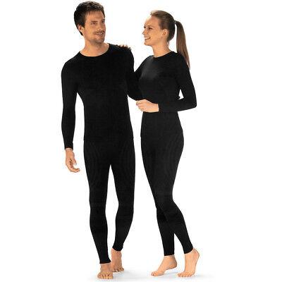 Thermounterwäsche Thermowäsche Set lange Unterhose + Unterhemd Ski Unterwäsche