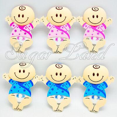 10 PCS Baby Shower Babies Centerpiece Decoration Foam Girl Boy Favors Supplies](Girl Baby Shower Supplies)