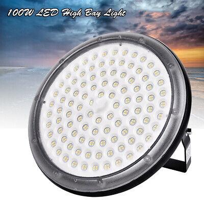100W UFO LED High Bay Light Factory Warehouse Mall Gym Work Lighting Lamp for sale  USA