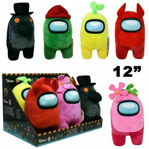 """Toikido Among Us 12"""" inches Premium Soft Plush Toy New with Tags Licensed"""