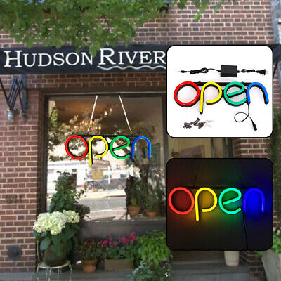 Led Neon Open Sign Electronic Lighted Sign For Businesswallswindowstore Bar