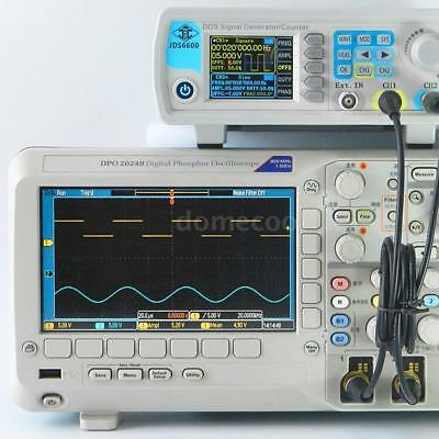 Jds6600 60mhz Dual Channel Dds Digital Function Pulse Signal Generator Kit Z9o1