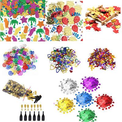 - Multicolor Confetti Romance Plastic Home Birthday Party Wedding Table Decoration