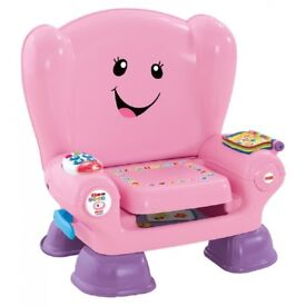 Fisher Price pink musical chair toy