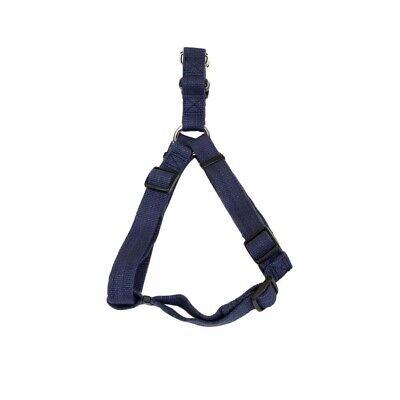Coastal New Earth Soy Comfort Wrap Adjustable Dog Harness Indigo 1X26-38in