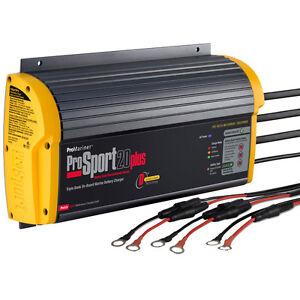 ProMariner ProSport 20 Plus Gen 3 On-Board Marine Battery Charger 20 Amp 3 Bank