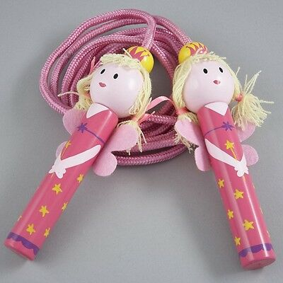 Floss & Rock Fairy Wooden Handles Skipping Rope Playground Outdoor Game Gift