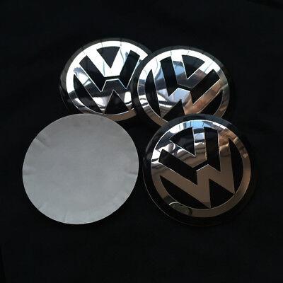 4x 56MM Car Wheel Center Hub Cap Emblem Badge Decal Sticker for VW Volkswagen