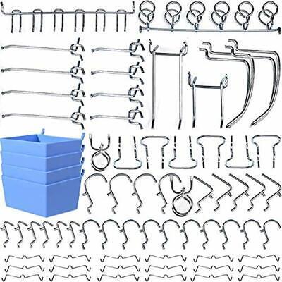 Pegboard Hooks Accessories Board Attachments Set Bins Locks Home Improvement