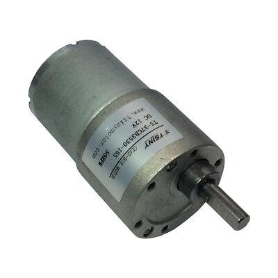 12v 50rpm Dc Motor Low Torque 6kg.cm Micro Gear Box Motor For Diy Robot Parts