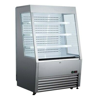 Marchia Mds390ss 36 Open Refrigerated Merchandiser Grab Go Display Case Ss