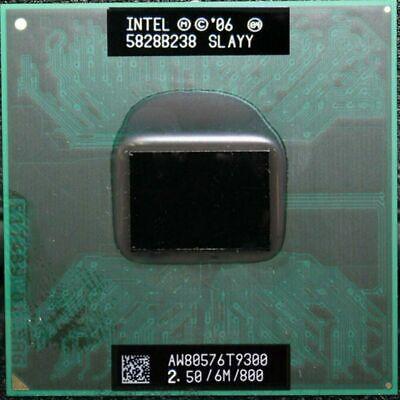 Intel Core 2 Duo T9300 2.5GHz 6MB 800 MHz Socket M,P PGA478 CPU Processor Core 2 Duo T9300 Processor