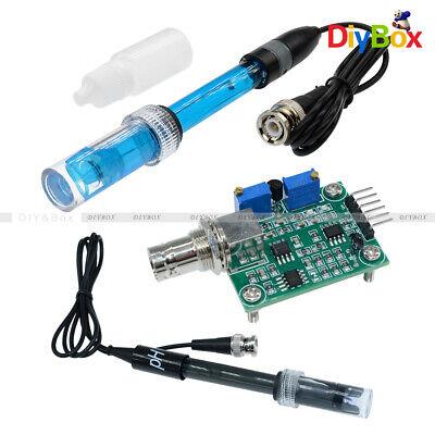 Aquarium Hydroponic Ph Electrode Probeliquid Ph Value Test Detection Sensor