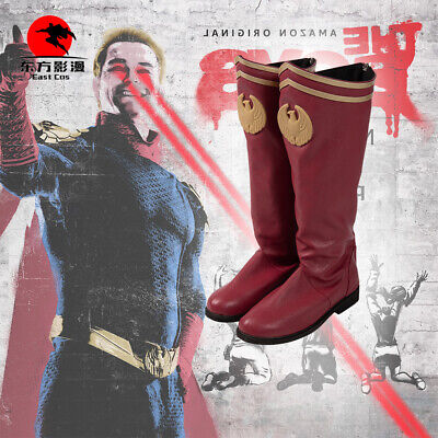 Shoes For Halloween Costumes (DFYM The Boys Cosplay Boots Homelander Costume Shoes for Men)