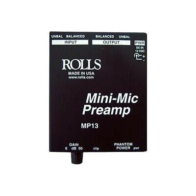 MP13 Mini-Mic Preamp