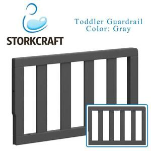 NEW Storkcraft Toddler Guardrail, Gray Condtion: New