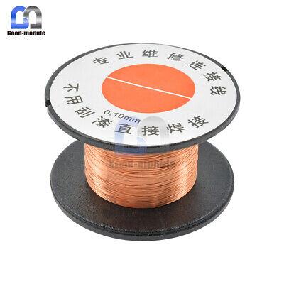 2pcs 0.1mm Copper Soldering Solder Ppa Enamelled Repair Reel Wire