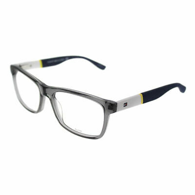 9b3d90b2b25 Tommy Hilfiger TH 1282 FNV Gray White Plastic Rectangle Eyeglasses 52mm