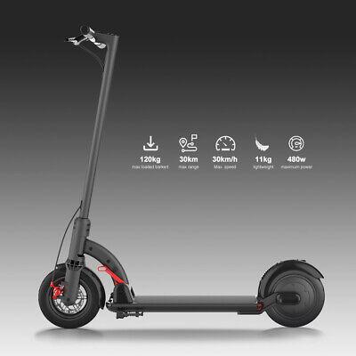 8.5 ZOLL 30KM/H Elektro Scooter E-Scooter E-Tretroller Elektroscooter LED