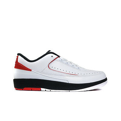 832819-101 Nike Air Jordan Retro 2 ii OG (White/Varsity Red/Black) Men's Shoes