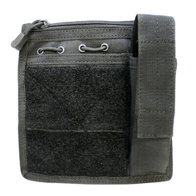 MA30 Admin Pouch w/ Flashlight pouch - Black