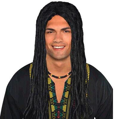 Dreads Dreadlocks Rasta Wig Adult Costume Accessory, One Size