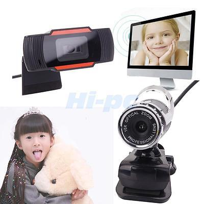 360 Usb 2 0 1080P Hd Webcam Web Camera With Mic Adjustable For Video Chat Skype
