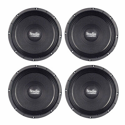 Lot of (4) Pyramid WH12 12-Inch 500 Watt High Power Paper Cone 8 Ohm Subwoofer High Power Paper Cone
